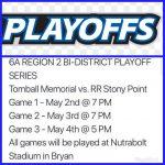 Bi-District Baseball Playoffs