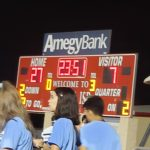 Halftime at TISD Stadium