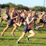 Coed Varsity Cross Country finishes 10th place at Dawson Early Bird Invitational