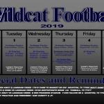 TMHS Football 9/30-10/5