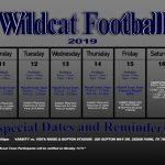TMHS Football 11/11/19 – 11/16/19