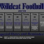 TMHS Football 11/18/19 – 11/23/19