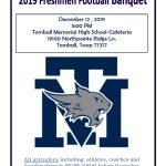 Freshmen Football Banquet