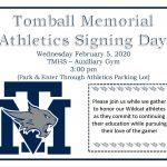 TMHS Athletics Signing Day!