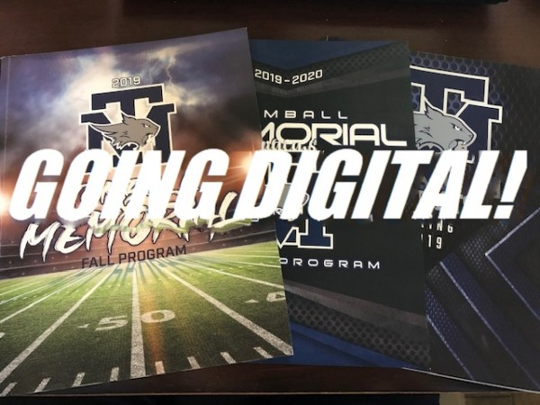 TMHS SPORTS PROGRAMS – Going Digital!