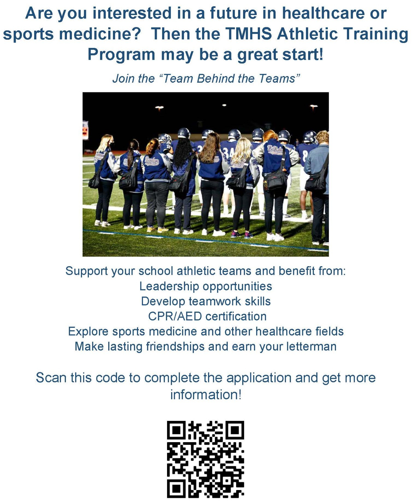 Join the Team Behind the Teams!