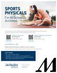 Houston Methodist – Sports Physicals at TMHS