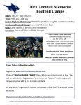 Summer Football Camps – Register NOW!