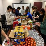 VOLLEYBALL SERVES GENEROSITY TO LOCAL SCHOOL IN NEED