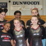 Girls Varsity Gymnastics finishes 1st place at Gymnastics Meet