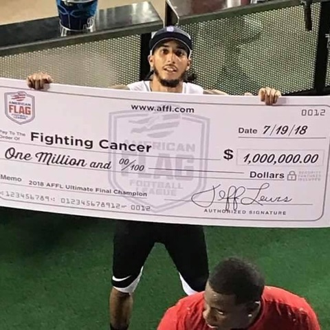DHHS TRACK ALUMNUS WINS 1 MILLION DOLLARS!!