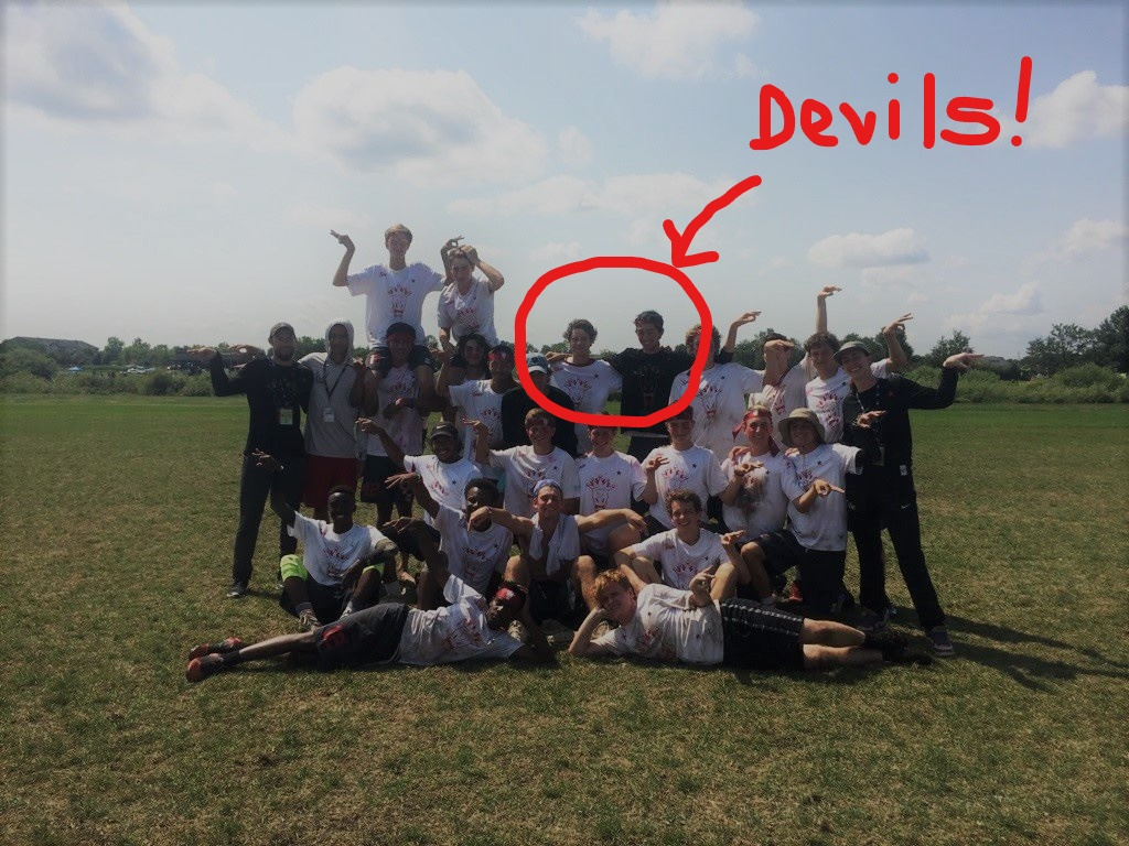 Disc Devils on Atlanta All-Star Ultimate team