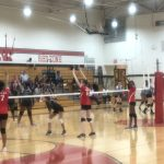 Girls Freshman Volleyball vs Heritage, Salem & Eastside