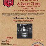 October 20th BBQ Invitation (tickets under MORE)