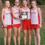 GIRLS XC TEAM PLACE 3RD AT DEKALB COUNTY CHAMPIONSHIPS!