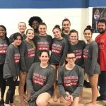 Girls Varsity Gymnastics – 2nd Place at first invitational of 2019 season!