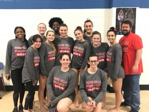 Girls Varsity Gymnastics – Second Place at First Meet of 2019 Season!