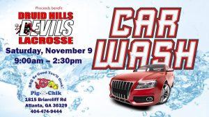DHHS Lacrosse Car Wash