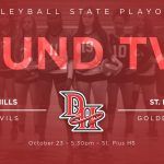 VOLLEYBALL IN SWEET 16 OF STATE PLAYOFFS