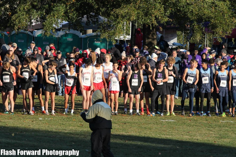 Varsity XC Competes at the GHSA State Championships!!