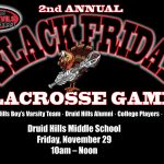 Black Friday Lacrosse