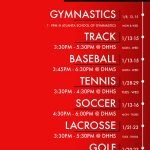 SPRING TRYOUT DATES