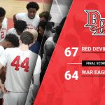 VARSITY BOYS BASKETBALL UPSETS WOODWARD ACADEMY