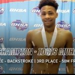 IDRIS MUHAMMAD – SWIM STATE CHAMPION
