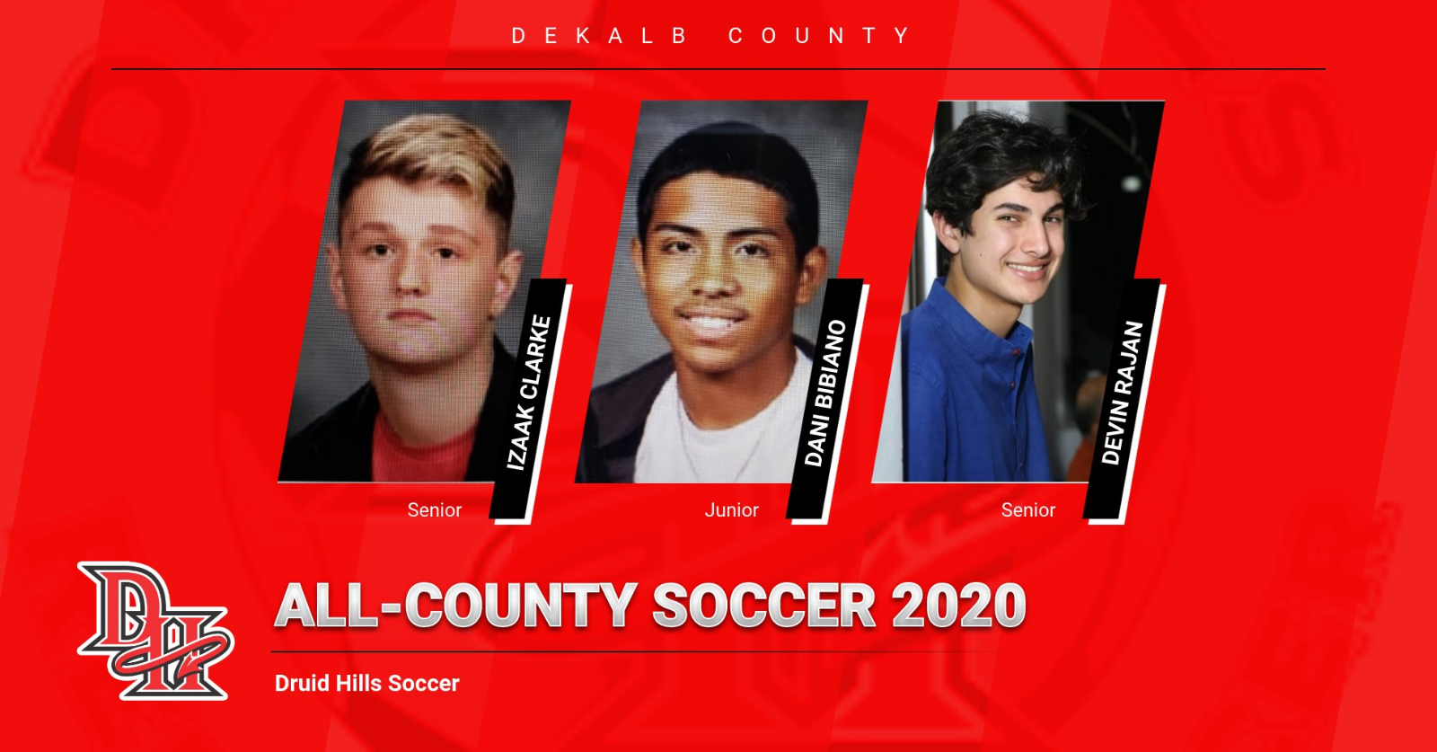 6 Named All-County