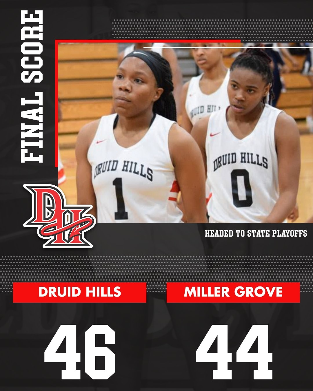 BASKETBALL LADY DEVILS HEADED TO REGION 6-4A SEMIFINALS