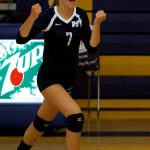 Varsity Volleyball Remains Undefeated in Conference Play