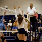 Varsity Volleyball Wins Quad
