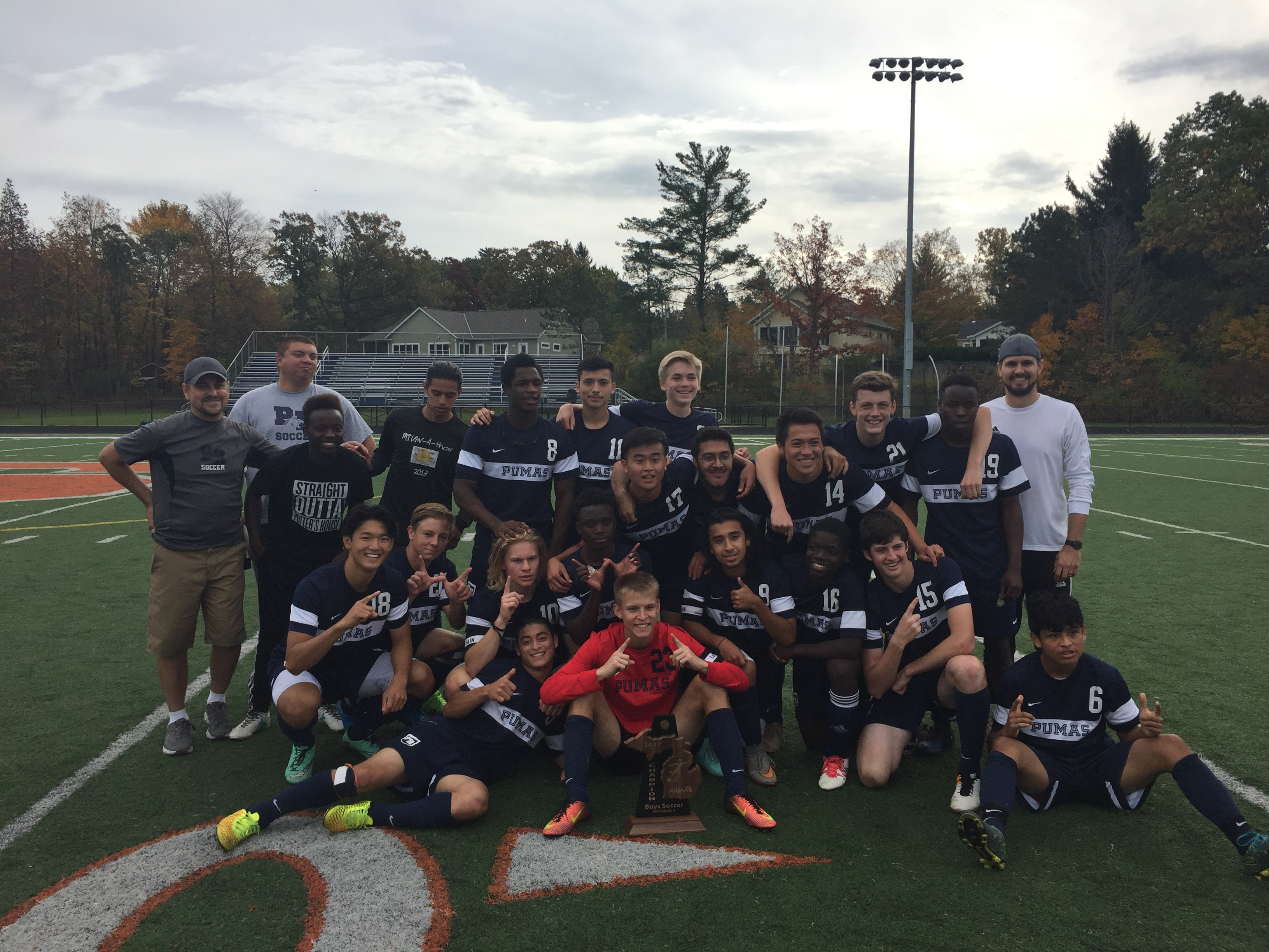 Boys Soccer Brings Home the District Championship for 2nd Time in School History