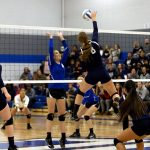 Volleyball Claims First District Title in School History
