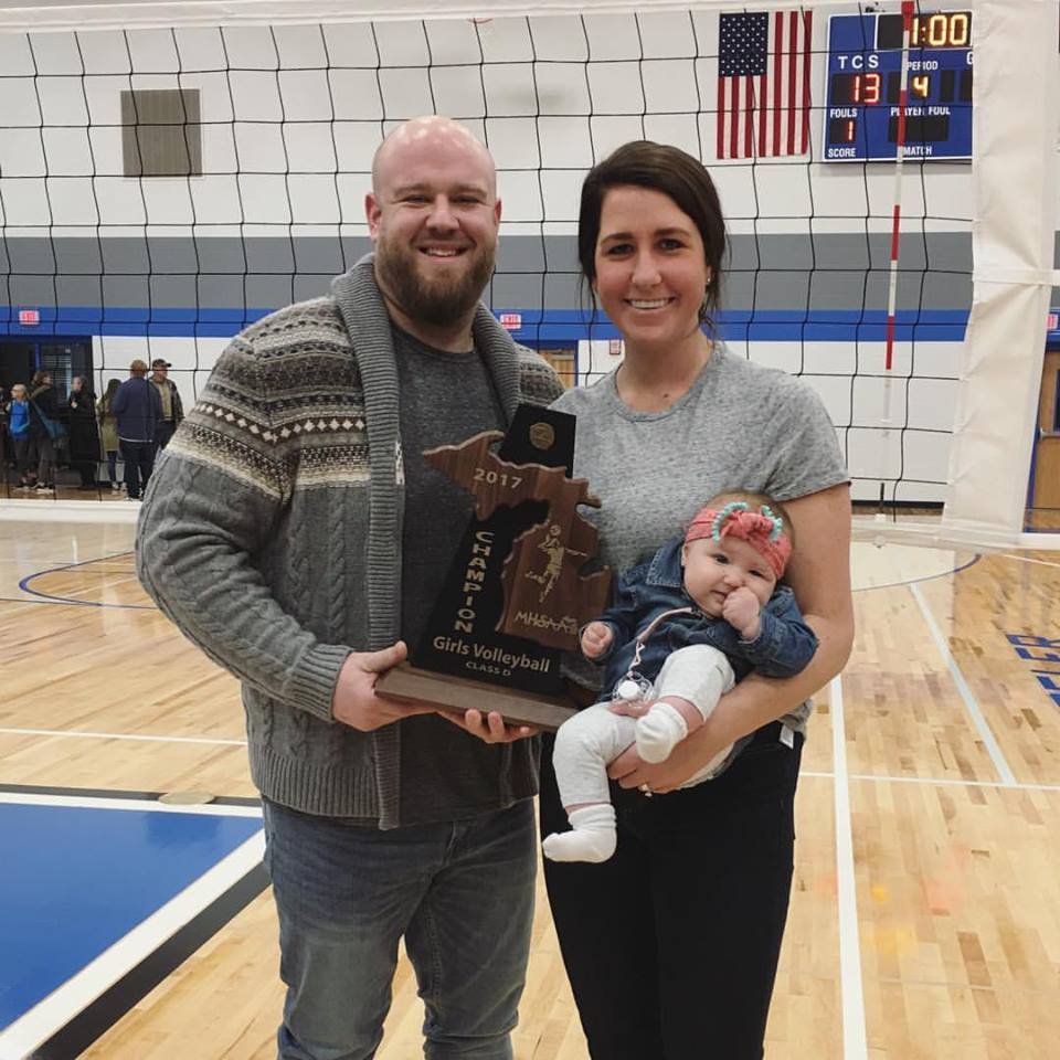 Head Volleyball Coach, Hannah Natale, stepping down after 3 seasons