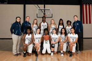 Varsity Girls Basketball Team Photo