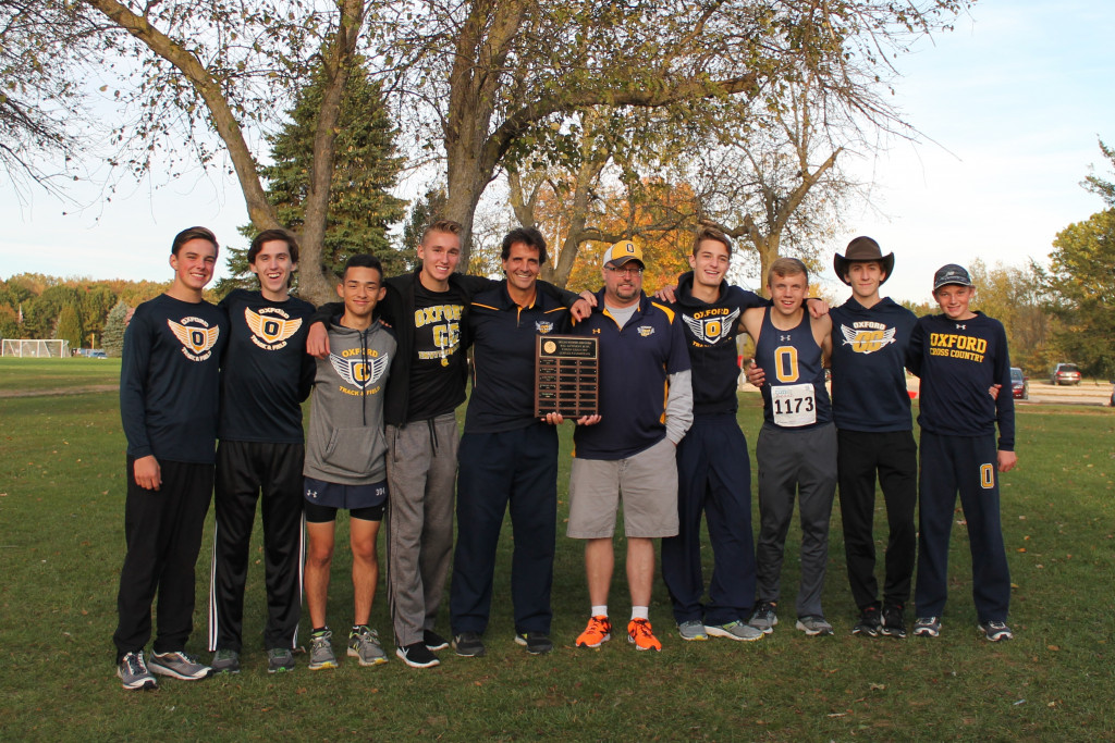 Cross Country earns OAA Red Championship