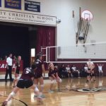 Girls Middle School (B) Maroon Volleyball falls to Suttons Bay Middle School 2 – 1