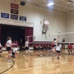 Girls Middle School (A) White Volleyball beats Suttons Bay Middle School 3 – 0