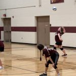 Girls Middle School Maroon Team loses to TC Bulldogs