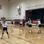 Girls Middle School White Team (7/8) Volleyball beats TC Bulldogs 2 – 0