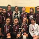 Varsity Volleyball Takes Home 1st Place at Forest Area Invitational