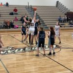 Girls Middle School Basketball falls to Grand Traverse Academy 30 – 22