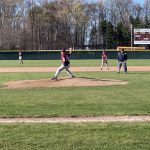 Boys Middle School Baseball Splits with Mesick
