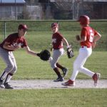 Boys Middle School Baseball Takes Both in Doubleheader