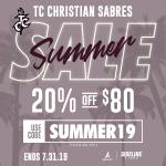 Summer Sale on Sabre Gear