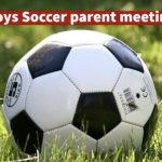 Soccer Player/Parent Meeting