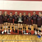 Girls JV Volleyball Finishes With 2nd Place at Bear Lake Invitational