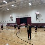 Middle School Maroon Volleyball Team beats Charlton Heston Academy 3 – 0