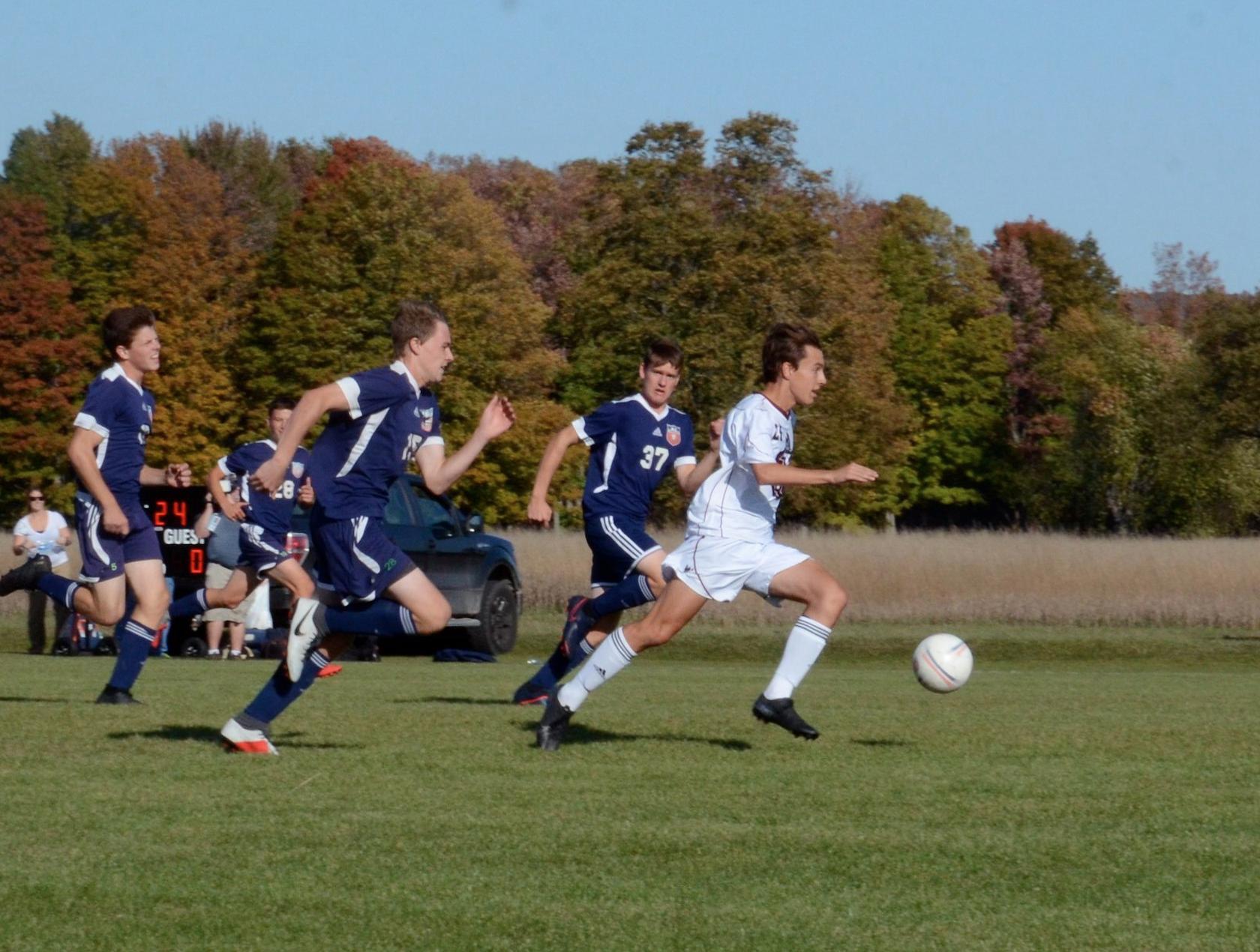 Boys Varsity Soccer falls to Boyne City 4 – 2 in District Tournament